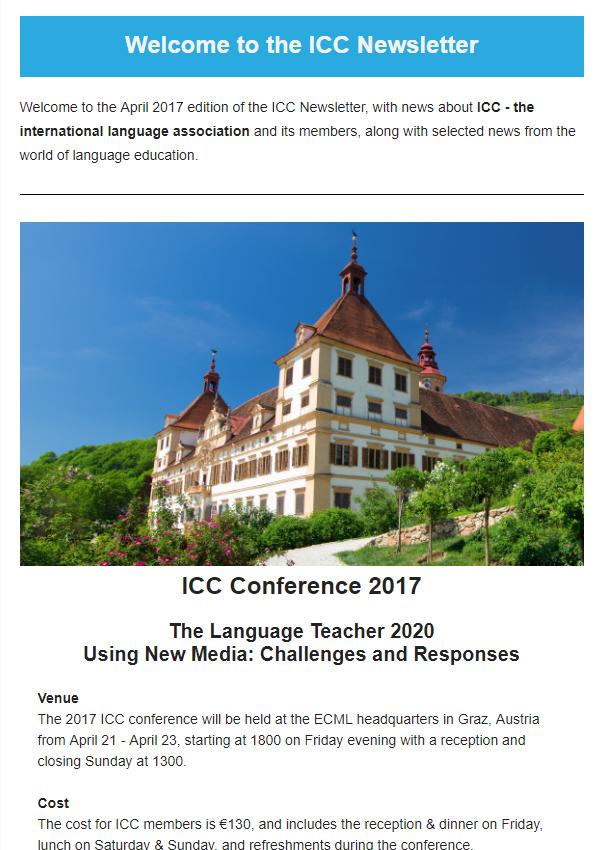 Newsletter – ICC